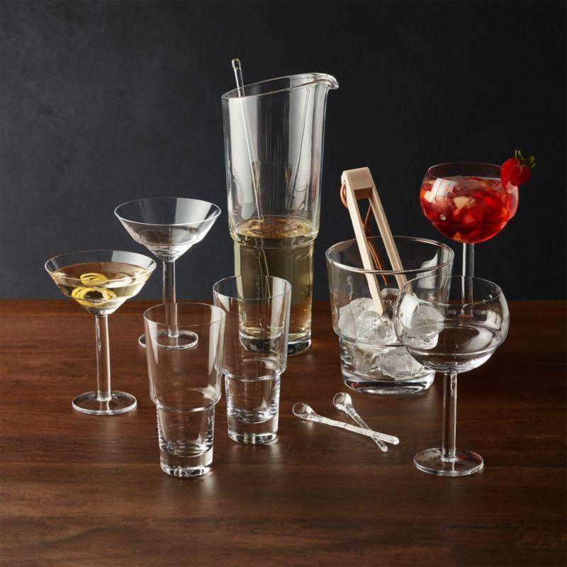 mixologist cocktail mixer set reviews crate and barrel. Black Bedroom Furniture Sets. Home Design Ideas
