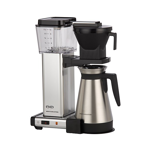 Moccamaster 10 Cup Coffee Maker Reviews Crate And Barrel
