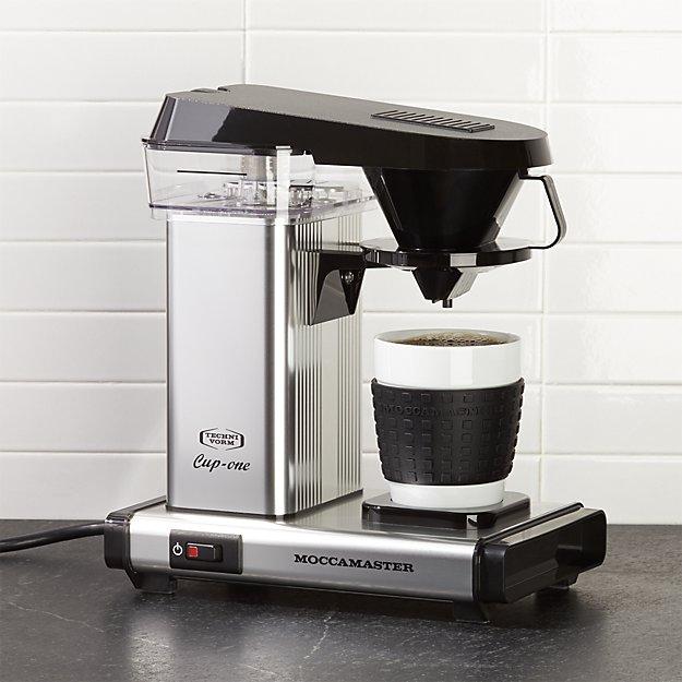 Moccamaster Polished Silver Single Serve Coffeemaker