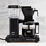 Moccamaster 10-Cup Matte Black Coffee Maker