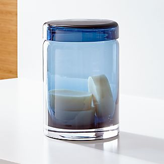 Mode Azure Extra Large Glass Canister