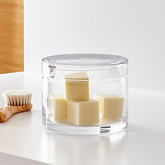 Mode Large Clear Glass Canister