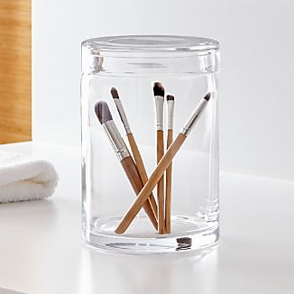 Mode Extra-Large Clear Glass Canister