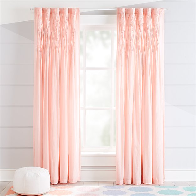 Chic Pink Curtains | Crate and Barrel