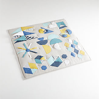 Modern Geometric Baby Activity Mat