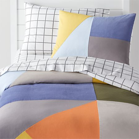 Modern Geo Twin Duvet Cover Crate And