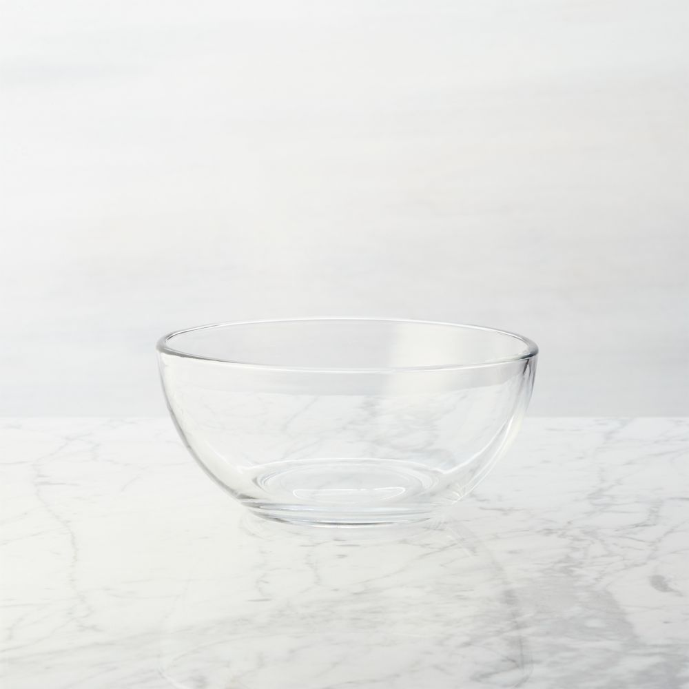 Moderno Glass Bowl - Crate and Barrel