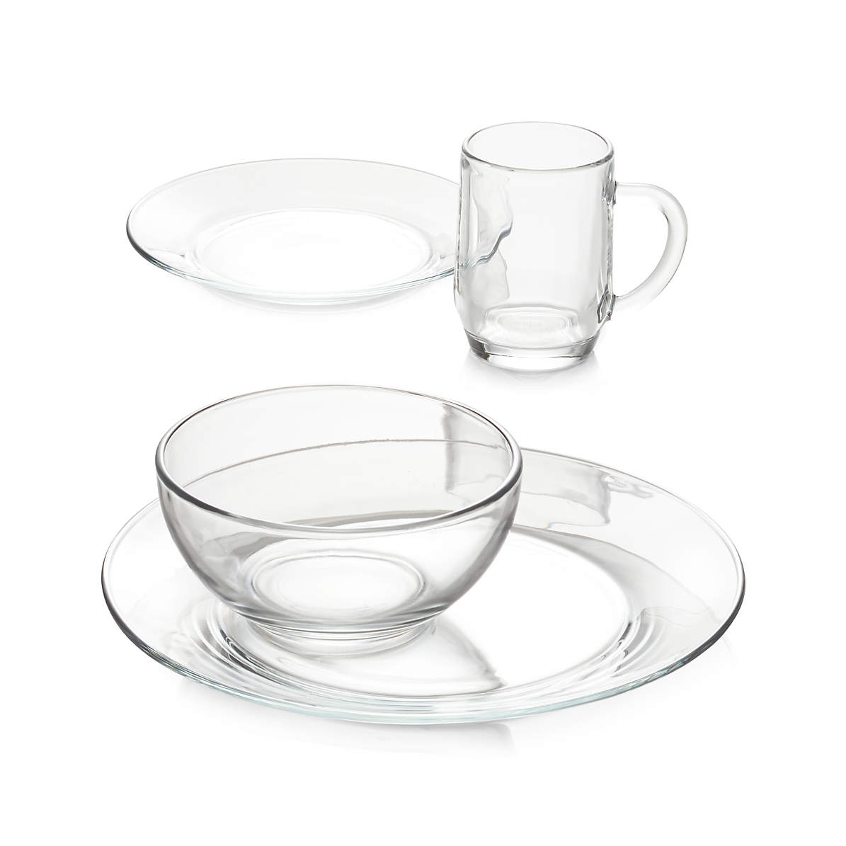 Set Of 8 Moderno Dinner Plates Reviews Crate And Barrel