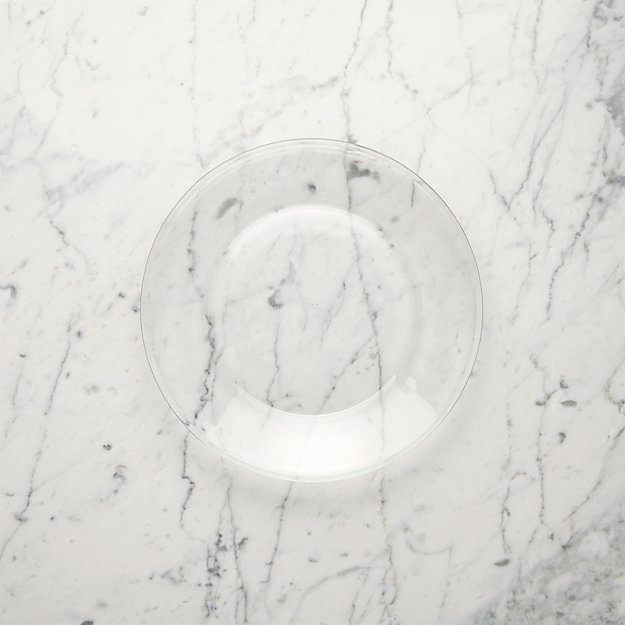 Moderno Glass Salad Plate - Image 1 of 4