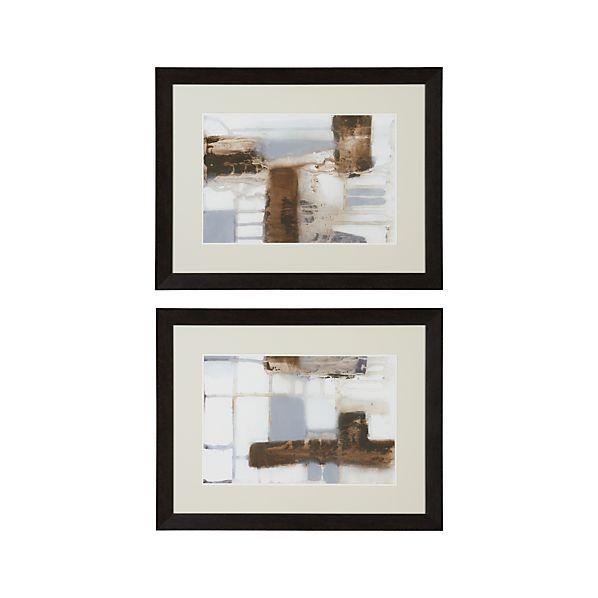 Set of 2 Modular Layout Prints