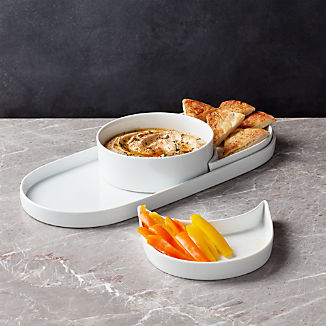 Modular Oval 4-Piece Serving Set