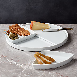 Modular Round 4-Piece Serving Set