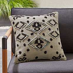 Mohave Embroidered Outdoor Pillow
