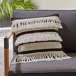 Mohave Fringe Outdoor Pillow