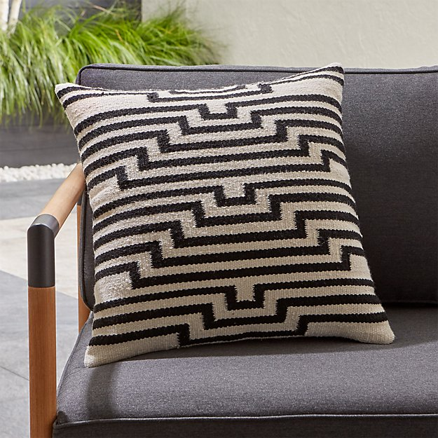 Mohave Lines Outdoor Pillow - Image 1 of 12