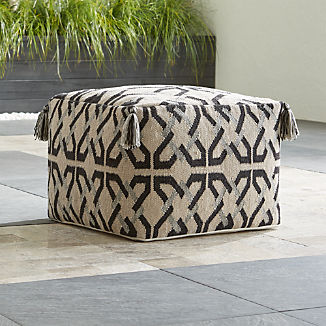 Mohave Outdoor Pouf