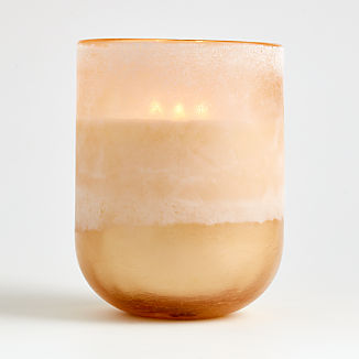 Coconut Milk Large Mojave Glass Candle