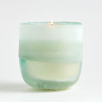 Fresh Sea Salt Mojave Medium Glass Candle