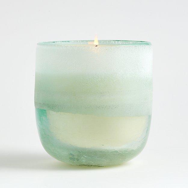 Fresh Sea Salt Mojave Medium Glass Candle - Image 1 of 4