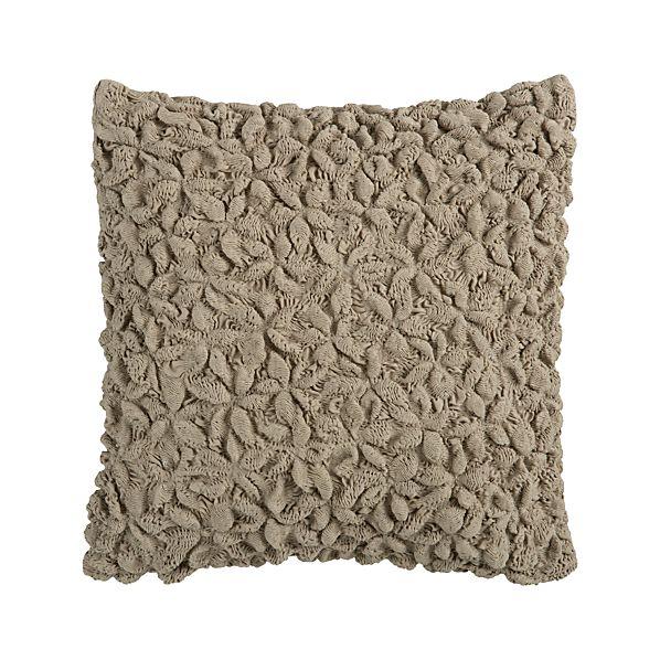 "Mollusk Natural 18"" Pillow"