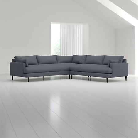 Monahan 2-Piece Left Arm Corner Sofa Sectional