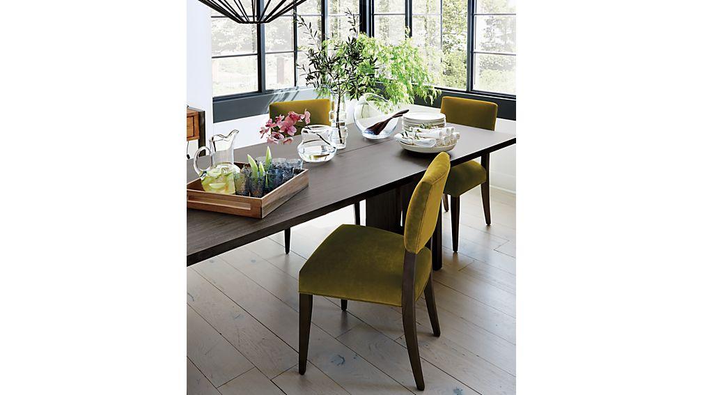 "Monarch Shiitake 76"" Dining Table"