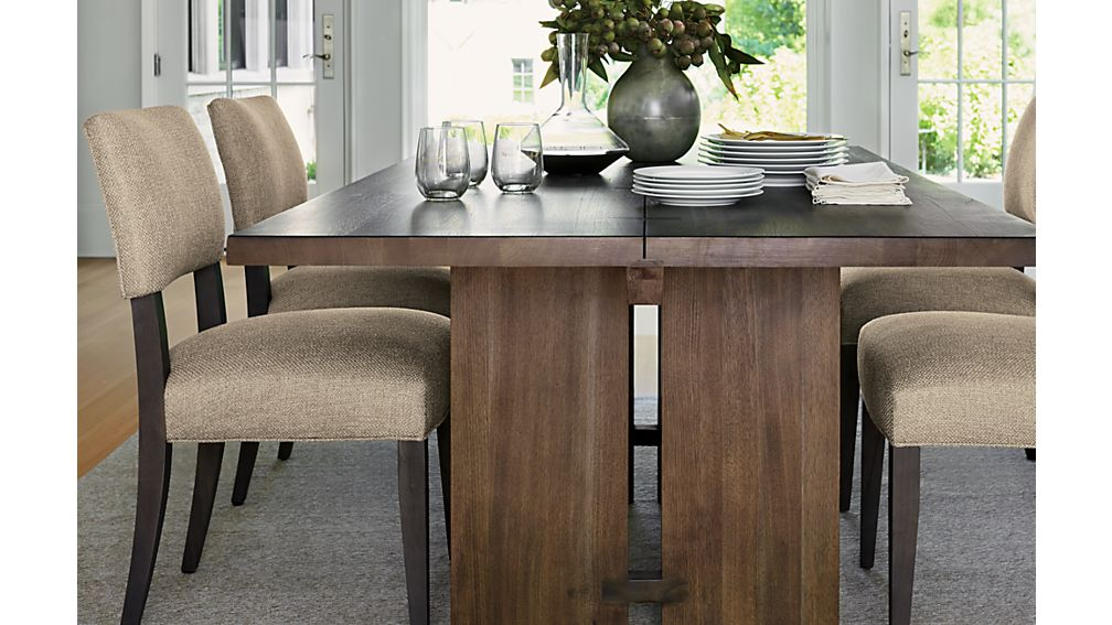 "Monarch Shiitake 76"" Dining Table"