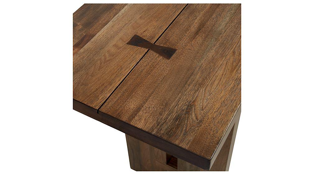 Monarch Solid Walnut Console Table