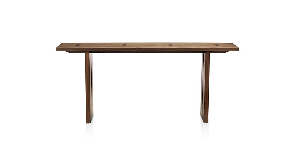 Monarch Solid Walnut Console Table