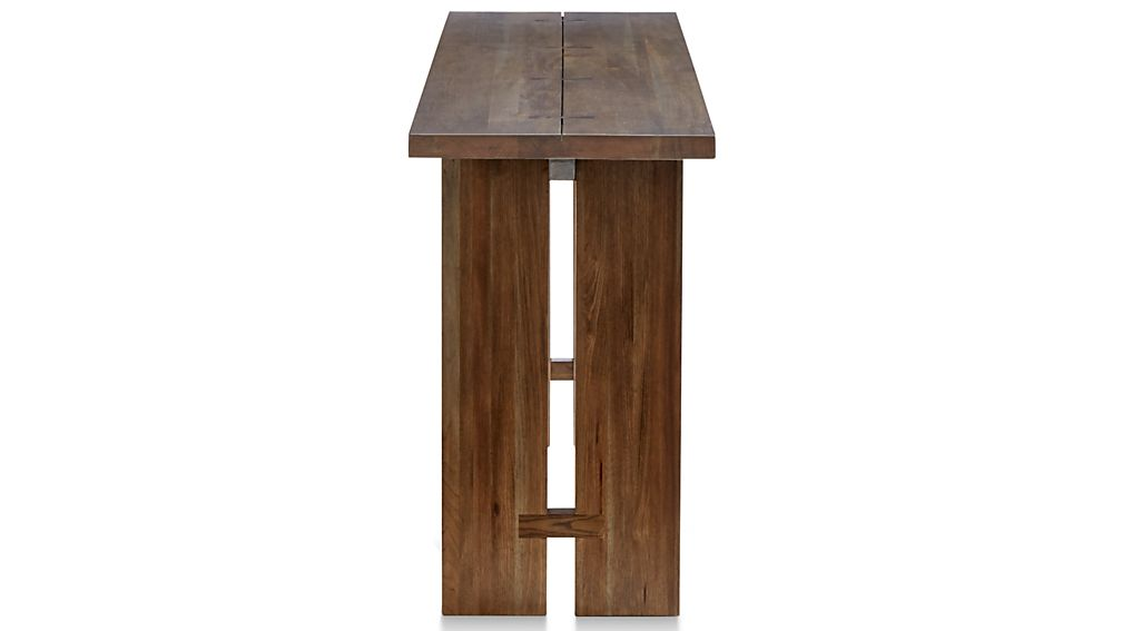 Walnut Console Table Lorimer Work