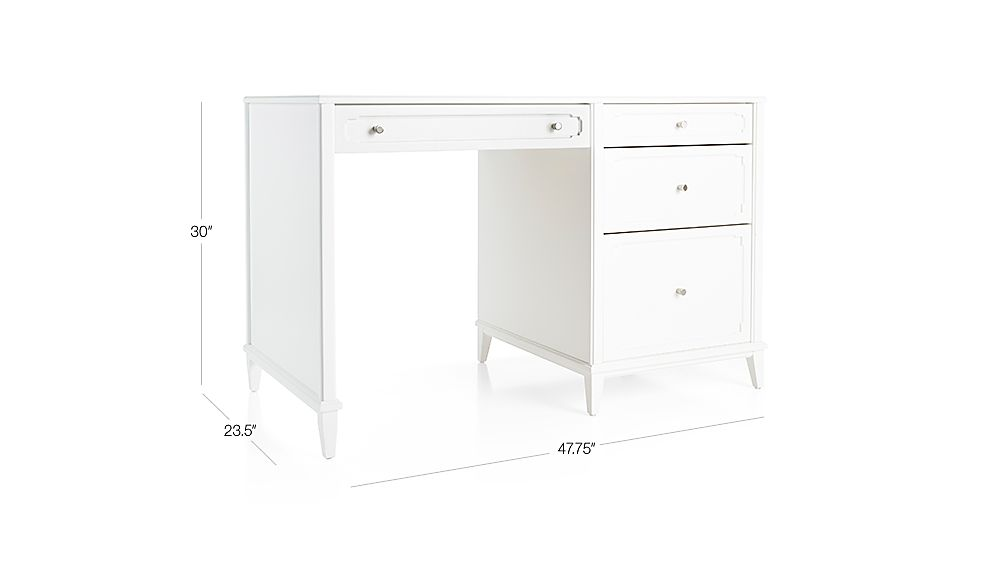 Tap To Zoom Image With Dimension For Kids Monarch Storage Desk