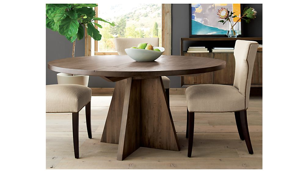 """Monarch Shiitake 60"""" Round Dining Table"""