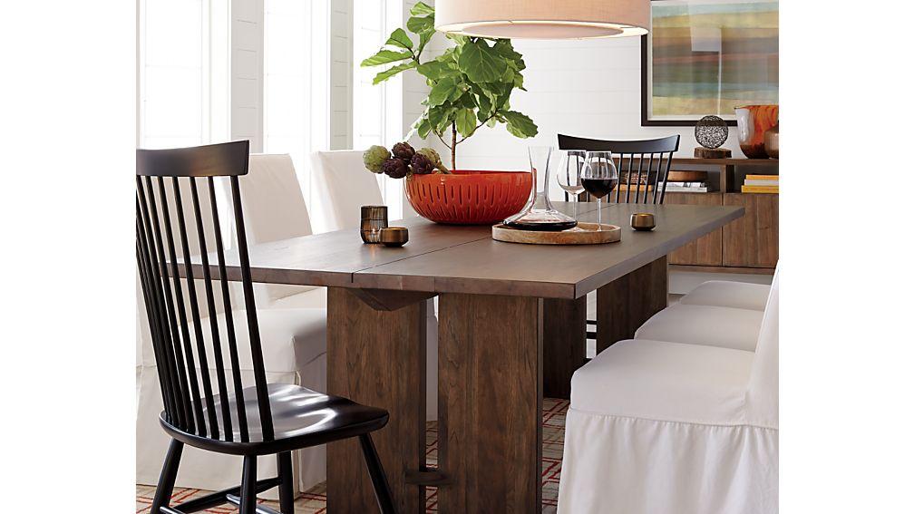Marlow II Black Wood Dining Chair