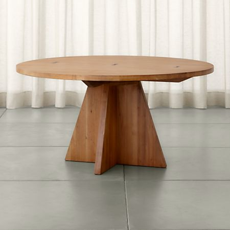 Monarch 60 Solid Walnut Round Dining Table