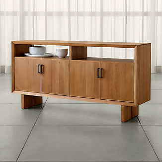 Monarch Natural Solid Walnut Sideboard