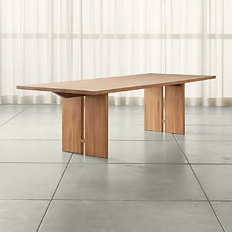 Monarch 108 Natural Solid Walnut Dining Table