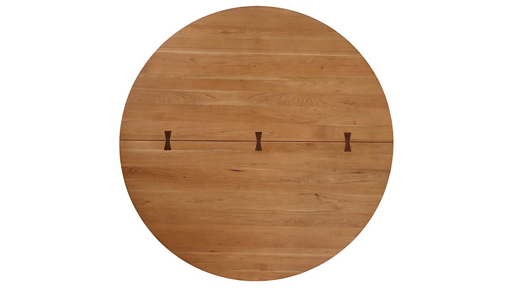 """Monarch 60"""" Solid Walnut Round Dining Table"""