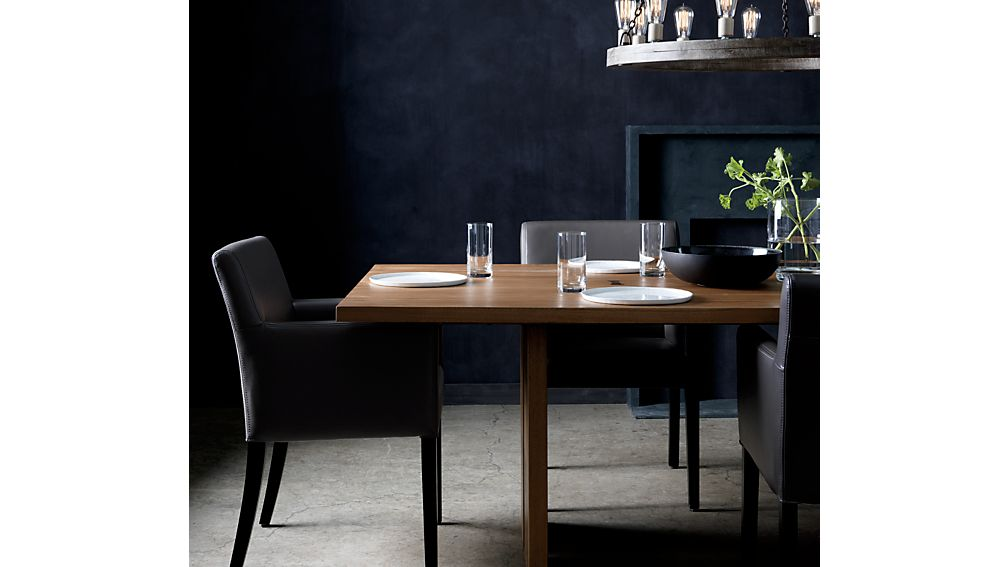 """Monarch 108"""" Natural Solid Walnut Dining Table"""