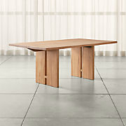 Surprising Wood Dining Tables Crate And Barrel Download Free Architecture Designs Rallybritishbridgeorg