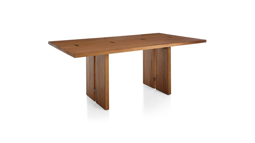 "Monarch 108"" Natural Solid Walnut Dining Table"