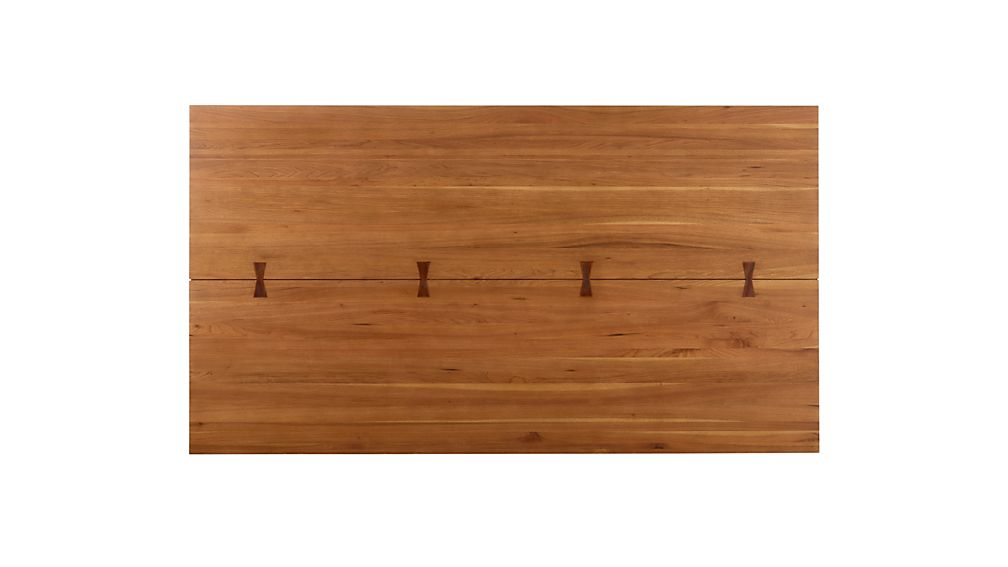 """Monarch 76"""" Natural Solid Walnut Dining Table"""