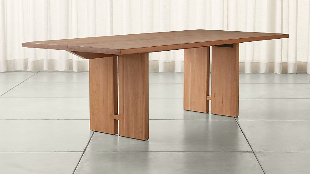 "Monarch 92"" Natural Dining Table - Image 1 of 13"