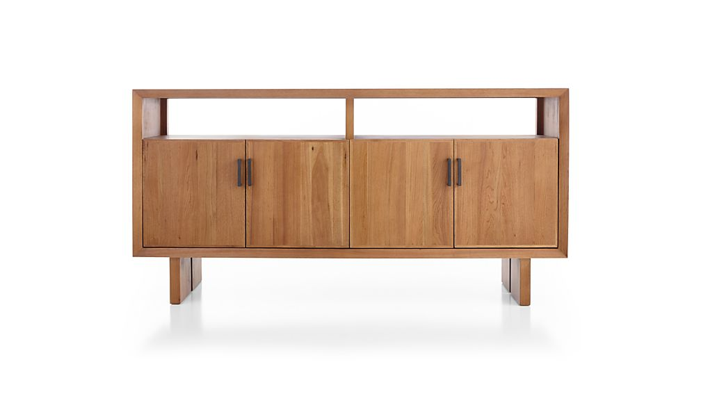 Monarch Natural Solid Walnut Large Sideboard