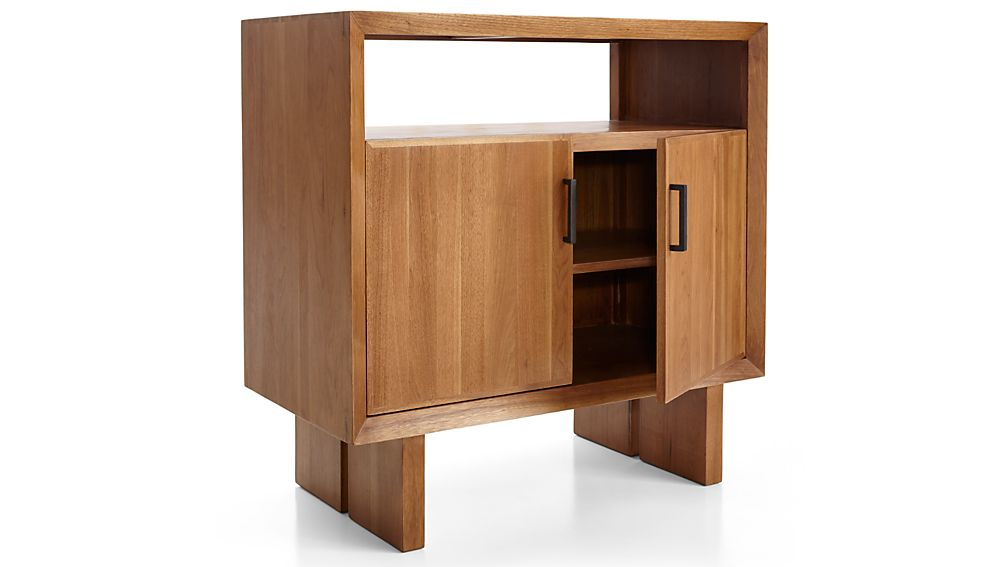 Monarch Natural Solid Walnut Small Sideboard