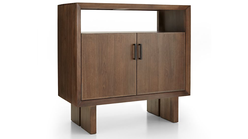 Monarch Shiitake Solid Walnut Small Sideboard