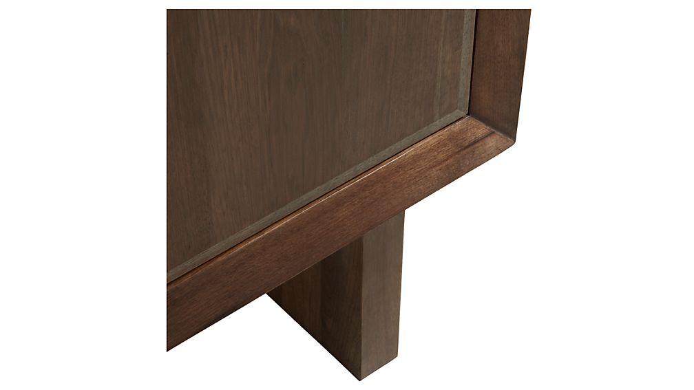 Monarch Shiitake Solid Walnut Small Sideboard