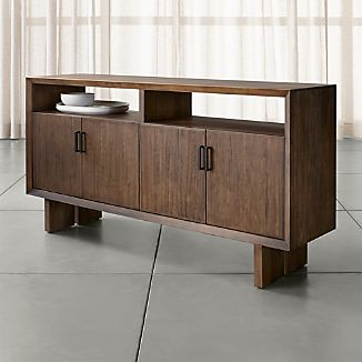 Monarch Shiitake Solid Walnut Large Sideboard