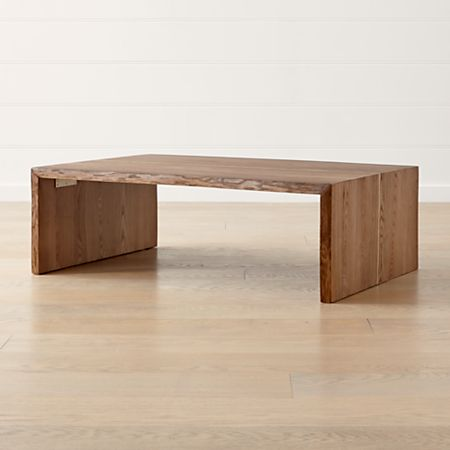Montana Live Edge Coffee Table Reviews Crate And Barrel Canada
