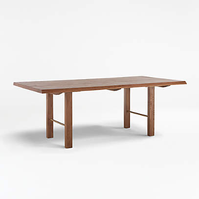 Montana 82 Live Edge Dining Table Reviews Crate And Barrel