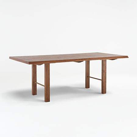 Montana Live Edge Dining Tables Crate And Barrel